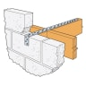 Simpson Strong-Tie Strap Bent (at 100mm) 5 x 1200mm