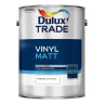 Dulux Trade Vinyl Matt Paint 5L Pure Brilliant White