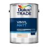 Dulux Trade Vinyl Matt Paint 5L Magnolia