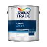 Dulux Trade Vinyl Matt Paint 2.5L White