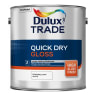 Dulux Trade Quick Dry High Gloss Paint 2.5L Pure Brilliant White