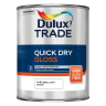 Dulux Trade Quick Dry High Gloss Paint 1L Pure Brilliant White
