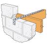 Simpson Strong-Tie Heavy Flat Restraint Strap 1000 x 5mm