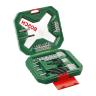 Bosch Universal Drill And Screwdriver Bit Set X line Black/Chrome
