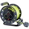 PRO XT 13A 2-Gang 25m Cable Reel + 2.1A 2G Type A USB Charger 240V