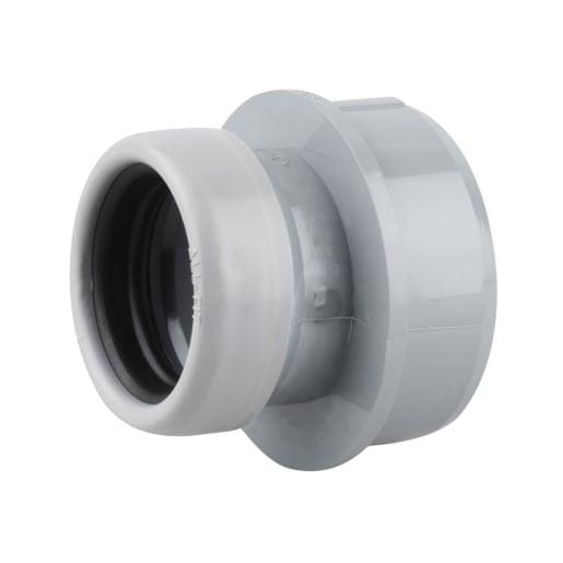 OsmaSoil Boss Socket Adaptor 32mm Grey
