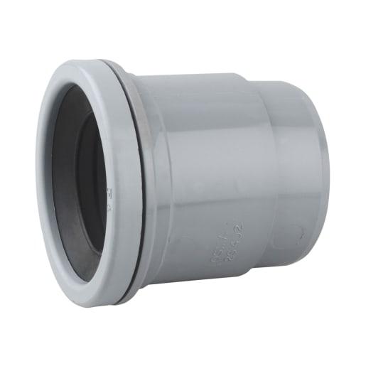 OsmaSoil Single Socket Boss Adaptor 50mm Grey