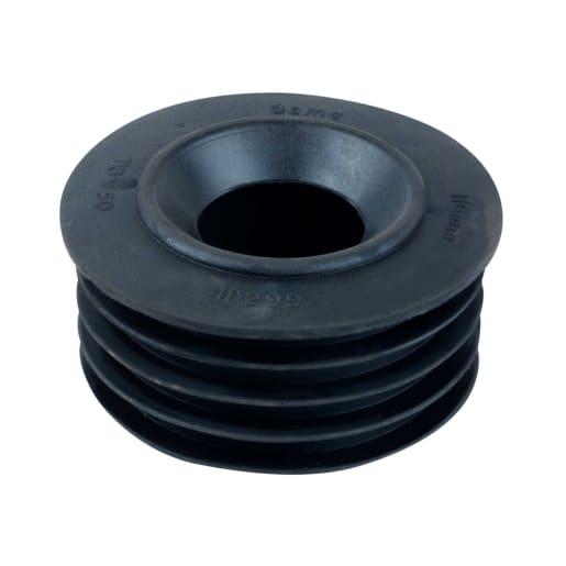 OsmaDrain Internal Drain Connector 110mm Black