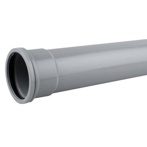 OsmaSoil Grey Seal Soil Pipe 110mm Grey