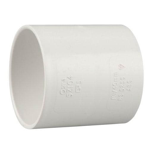 OsmaWeld Double Socket 32mm White