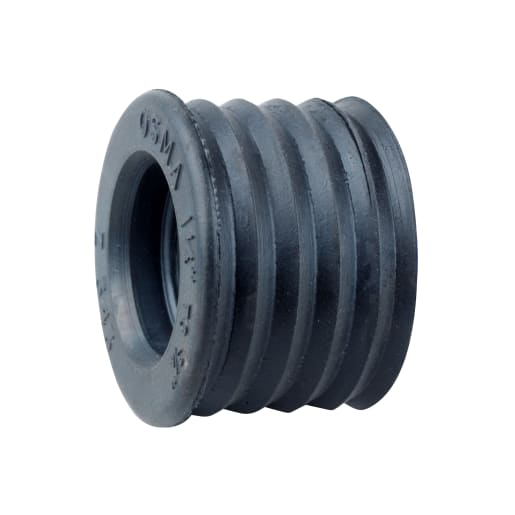 OsmaWaste Rubber Reducer 32mm to 19mm Red