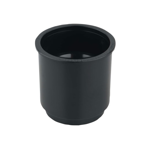 Osma RoundLine Pipe Connector 68mm Black