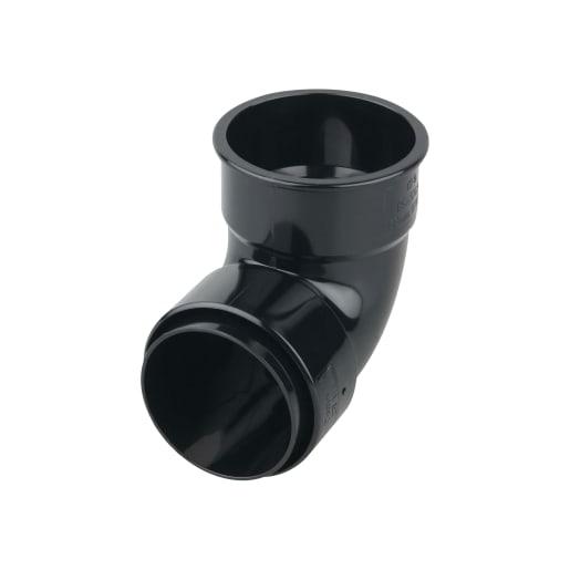 Osma RoundLine Bend 87.5° 105 x 112 x 81 x 68mm Black