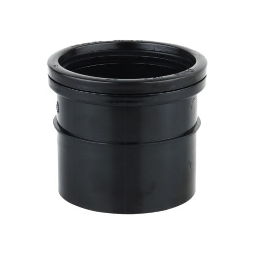 OsmaSoil Single Socket 110mm Black