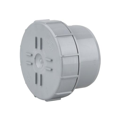OsmaSoil Plain Ended Access Plug 110mm Grey