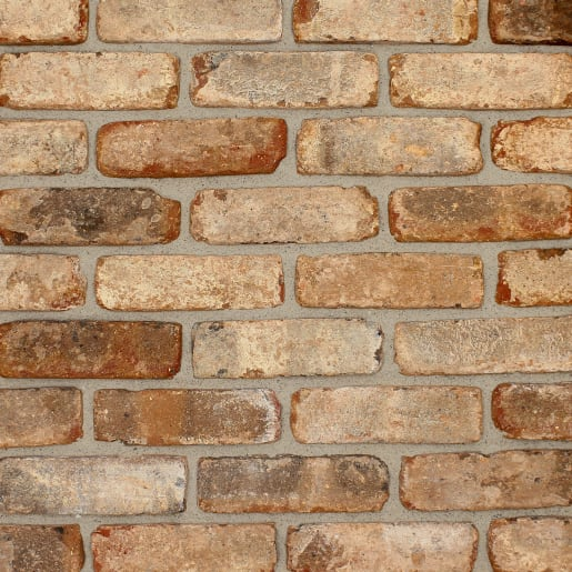 The Brick Tile Company Brick Slips Tile Blend 1 Brown - Sample Panel