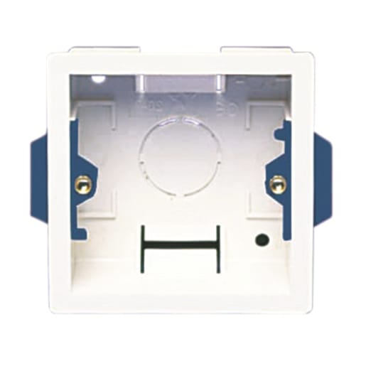 Nexus Dry Lining Box 1 Gang 35mm White