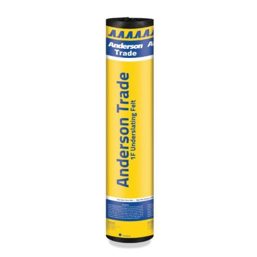 Icopal Anderson 1F Roofing Underlay 15 x 1m