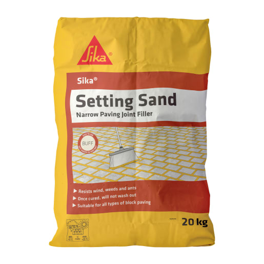 SIKA Setting Sand Narrow Joint Filler Buff 20kg