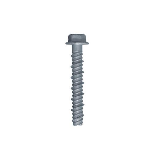 Rawlplug Hexagon Head Concrete Screw 85mm Grey