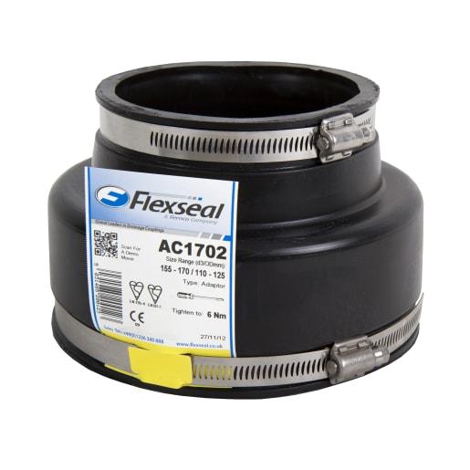 Flexseal AC5144 Adaptor Coupling 100mm Black
