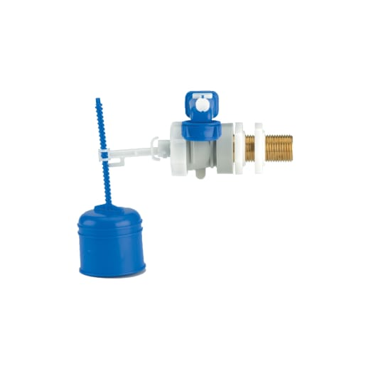 Thomas Dudley Hydrolo Side Inlet Valve Brass Tail Blue