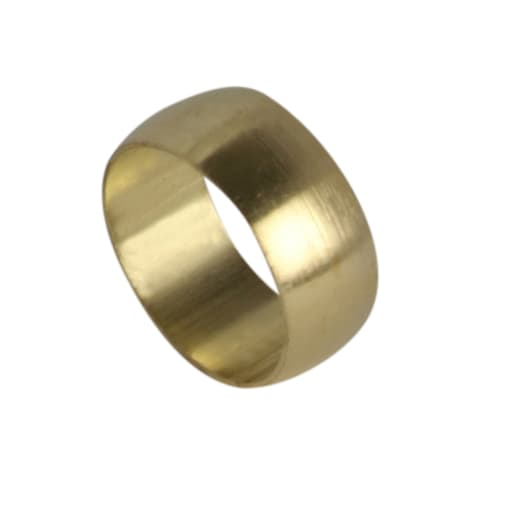 Altech Brass Olive 15mm Pack of 10