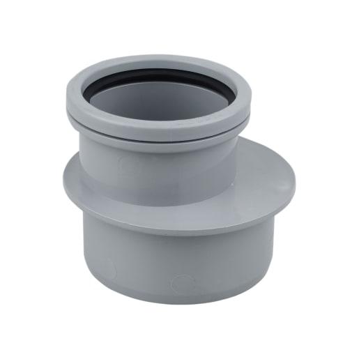OsmaSoil Single Socket Reducer 110 x 82mm Grey