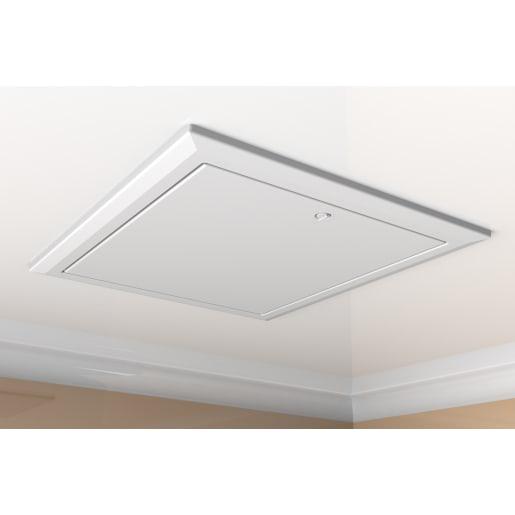 Timloc Hinged Loft 0.82U Access Door 560 x 660mm White