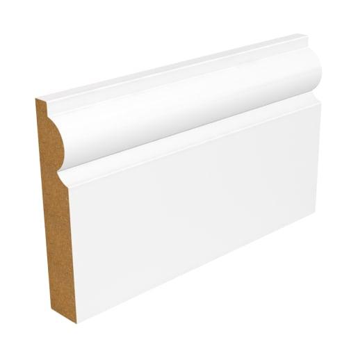 SAM09 Torus Architrave 4200 x 69 x 18mm Primed White