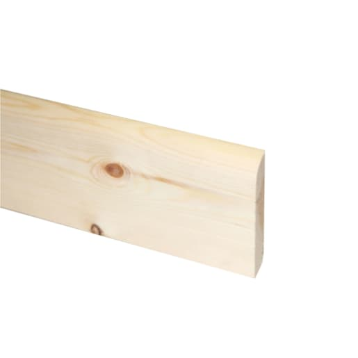 Redwood Bullnosed Architrave 19 x 75 mm (act size 14.5 x 70mm)