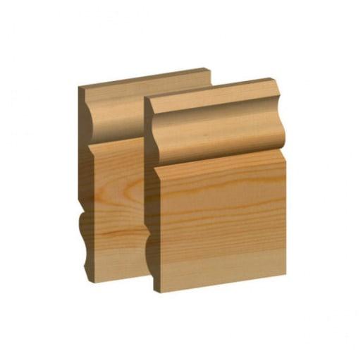 Std Redwood Torus/Ogee Skirting 25 x 150mm (act size 20.5mm x 145mm)