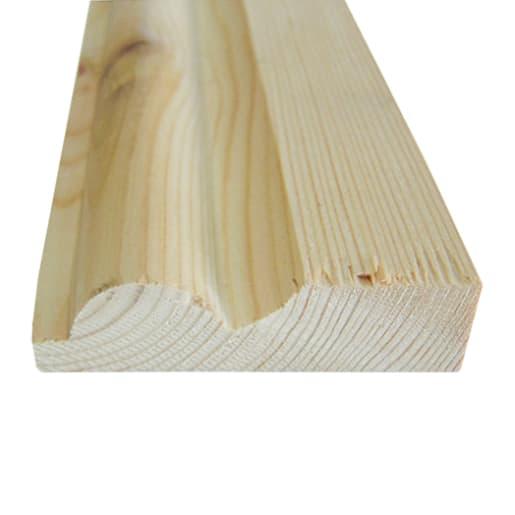 Redwood Torus Architrave 25 x 75mm (act size 20.5 x 70mm)
