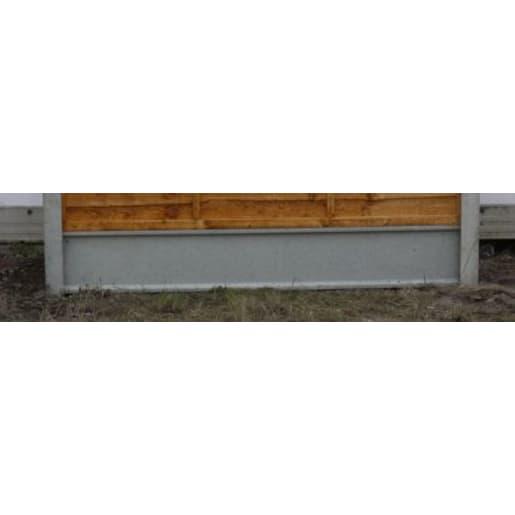 Supreme Concrete Recessed Gravel Board 1830 x 150 x 50mm