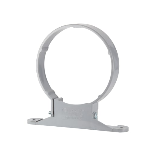 Polypipe Soil Pipe Clip 110mm Grey
