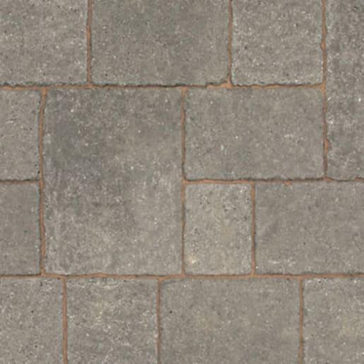 Marshalls Drivesett Tegula Block Paving 160 x 160 x 50mm Pennant Grey