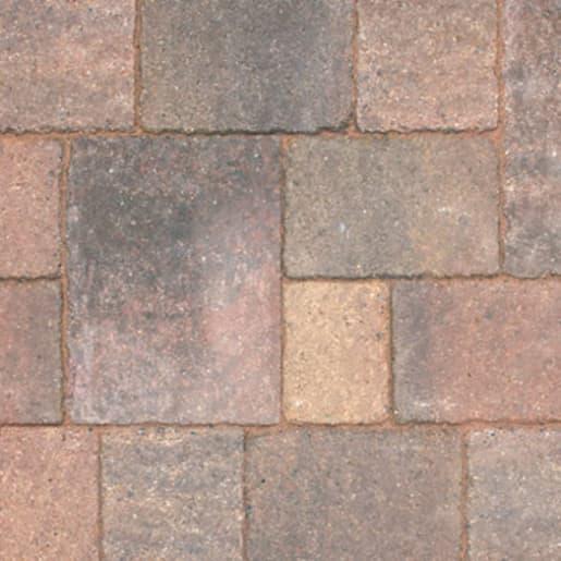 Marshalls Drivesett Tegula Traditional Block Paving 240 x 160 x 50mm