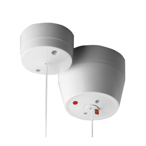 BG Electrical Ceiling Switch 6A 2 Way White