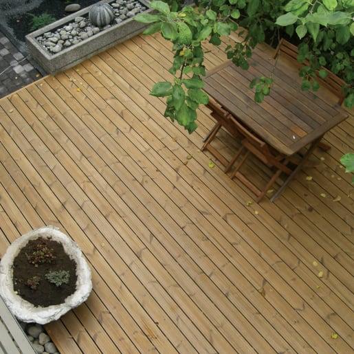 Redwood Decking PEFC 4800 x 150 x 32mm (act size 141 x 26)
