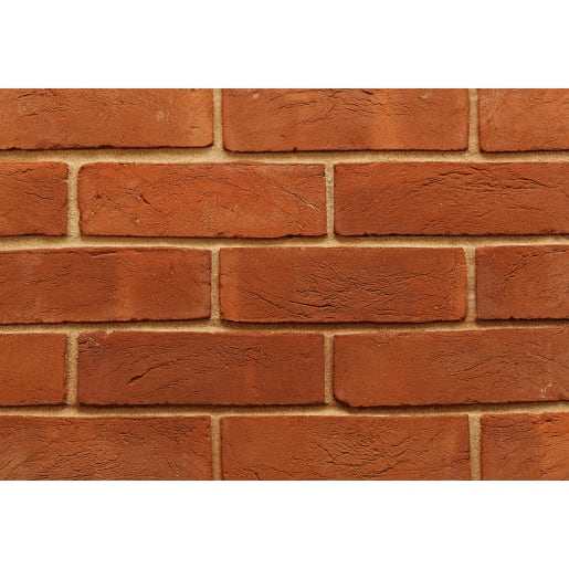 Imperial Handmade Brick Soft Red 68mm