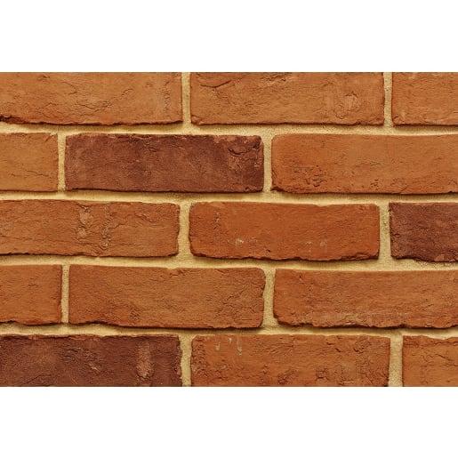 Imperial Handmade Farmhouse Brick Orange 68mm