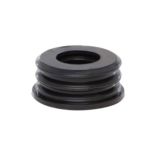 Polypipe Soil Rubber Boss Adaptor 40mm Black