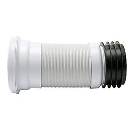 Polypipe Kwickfit Flexible Pan Connector 600 x 110mm White