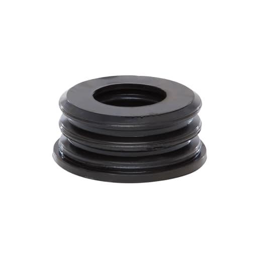 Polypipe Soil Rubber Boss Adaptor 50mm Black