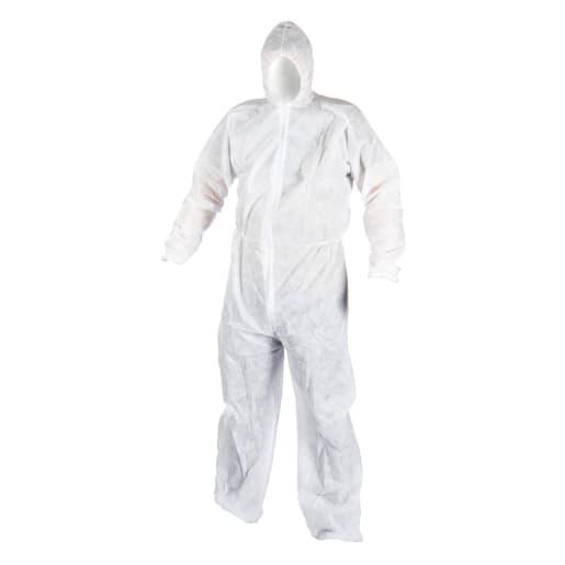 NOVIPro Disposable Coverall White