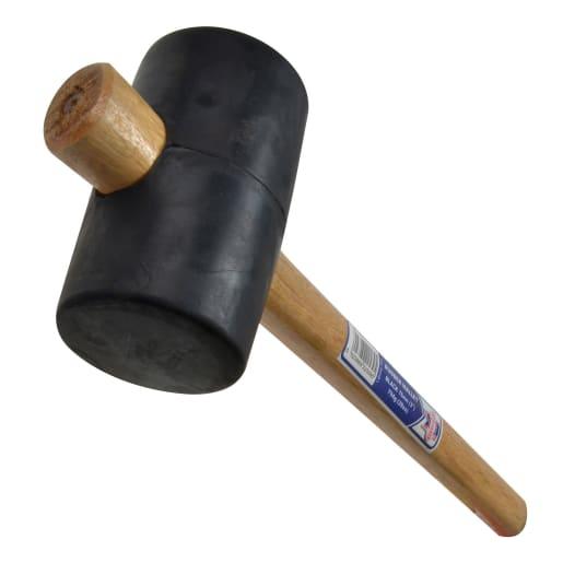 Faithfull Rubber Mallet Black 76mm