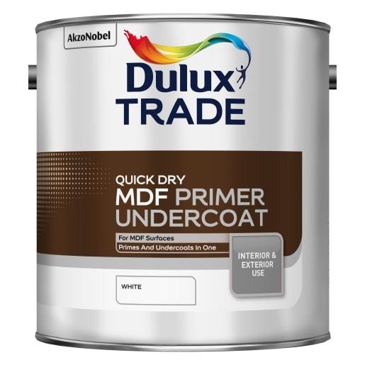 Dulux Trade Quick Dry MDF Primer Undercoat 2.5L White