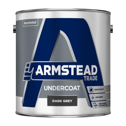 Armstead Trade Undercoat 2.5 Litre Dark Grey