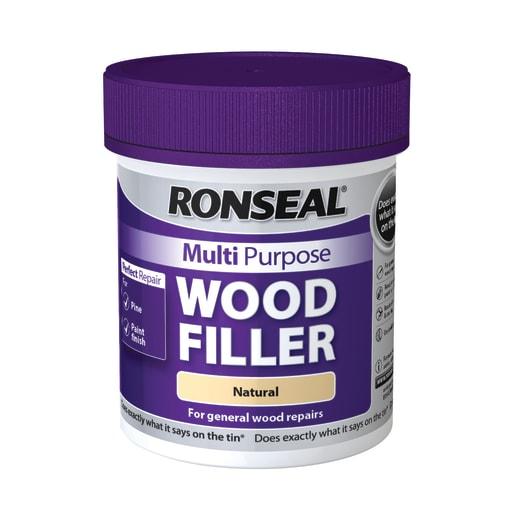 Ronseal Multi Purpose Wood Filler Natural 250g