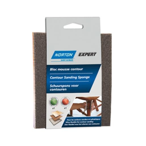 Norton Expert sanding sponges 140 x 115 180/220 grit